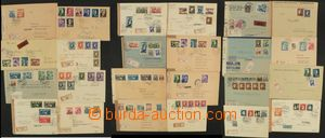 76511 - 1939-45 SLOVAKIA  selection of 54 pcs of entires, from that