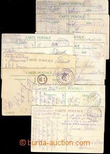 76520 - 1917 FP 451 a  FP 452 - TURECKO, sestava 10ks pohlednic, 2x