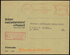 76632 - 1939 meter stmp St. publ. Prague 27, date 29.3.39, inscripti