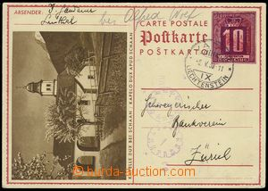 76669 - 1938 pictorial PC Mi.P16/03., addressed. to Switzerland, CDS