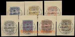 76685 - 1919 extraordinary comp. 7 pcs of Hungarian stamp. Turul, Mi