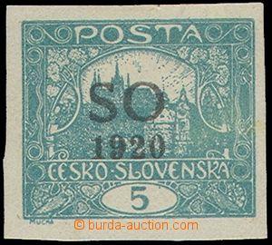 76757 -  Pof.SO3 IIp, nezoubkovaná 5h modrozelená, II.typ příčk