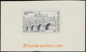 76968 - 1978 Mi.2709ZT Prague, trial print according to design/sketc