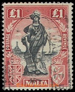 76970 - 1922 Mi.96bY postage stmp, highest value, well preserved, ex