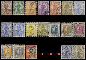 76971 - 1922-26 Mi.82-96bY + 98-99 Postage, No.88 3 color variants,