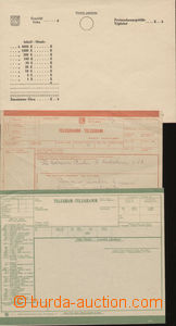 77100 - 19??-40 TEACHING AIDS  comp. 11 pcs of postal blank forms an