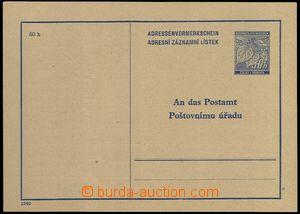 77146 - 1940 CZA1Pa, Linden Leaves 50h, hnědošedý paper, nice qua