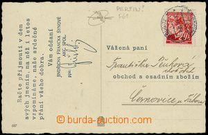77147 - 1940 Maxa F61, postcard printed matter firm J. Francek's Son