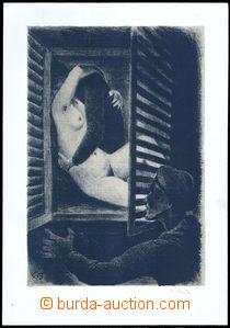 77370 - 19?? BOUDA Cyril (1901–1984), 2x litografie z cyklu Milenc