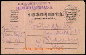 77420 - 1916 K.u.K. LUFTFAHRTRUPPE/ FLIEGERETAPPENPARK 5, řádkové