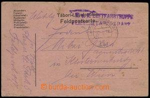 77421 - 1917 K.u.K. LUFTFAHRTRUPPE/ FLIEGERETAPPENPARK 5, řádkové