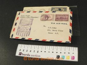 77426 - 1930-1950 USA  sestava 26ks dopisů, 1. lety, 4x do ČSR, p�