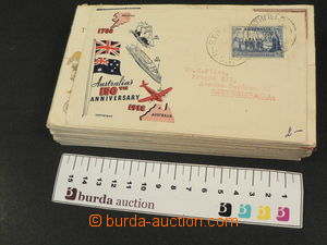 77432 - 1938-60 AUSTRALIA  selection of 60 pcs of air-mail letters a