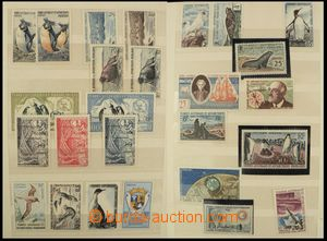 77438 - 1950-90 FRENCH SOUTHERN AND ANTARCTIC TERRITORY  sbírka zn�