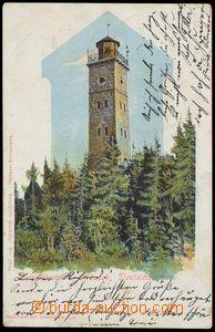 77458 - 1902 rozhledna Tisovský vrch, Nejdek (okr. Karlovy Vary); D