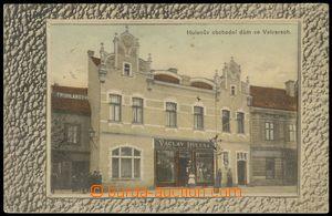 77474 - 1911 VELVARY - obchodní dům, koláž; prošlá, stržená
