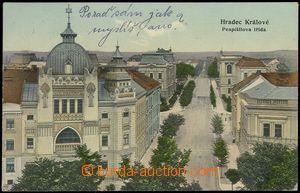 77550 - 1908 HRADEC KRÁLOVÉ - synagogue, Pospíšilova road, inter