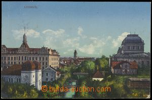 77551 - 1911 LITOMYŠL - synagogue; Us, bumped corners