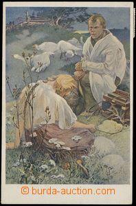 77555 - 1921 MUCHA Alfons (1860–1939), Blahoslavenství (Weill.131