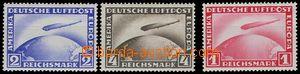 77623 - 1928-31 Mi.423-424 + 455 Graf Zeppelin, good quality, light