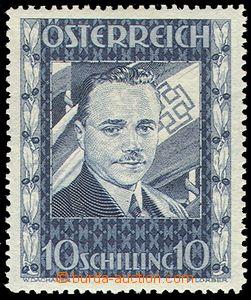 77642 - 1936 Mi.588 Dollfuß, lightly hinged, overall nice, cat. ANK