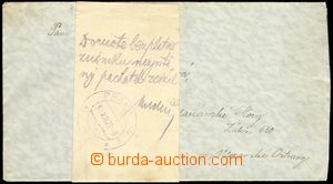77651 - 1929 FREE DELIVERY  letter without franking with officially