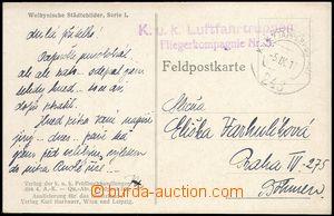 77824 - 1917 K.u.K. LUFTFAHRTRUPPEN FLIEGERKOMPANIE Nr.5  modré dvo