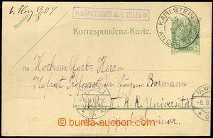 77829 - 1907 poštovna MÜNICHREITH ob. d. THAYA - Dolní Rakousy, m