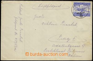 77830 - 1942 Stalingrad - air-mail letter FP to Prahy(!) with airmai