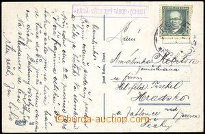 77891 - 1936 poštovna KŘIVÁ * VÝCVIKOVÝ TÁBOR (CHUST), Geb.Tek