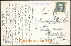 77891 - 1936 postal-agency KŘIVÁ * TRAINING TÁBOR (KHUST), Geb.Te