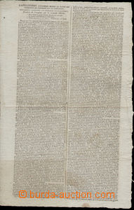 77900 - 1800 NAPOLEONIC WARS  sheet L'Angleterre, written French, de
