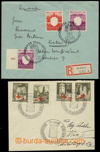 78078 - 1940-43 GENERAL GOVERNMENT  letter to Vienna franked with. w