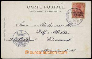 78084 - 1905 pohlednice vyfr. zn. Mi.9, DR TANGER/ Deutsche Post/ 12