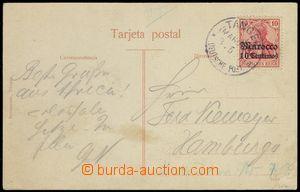 78085 - 1910 pohlednice vyfr. zn. Mi.23, DR TANGER/ Deutsche Post/ 3