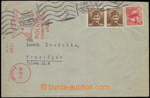 78145 - 1945 letter sent from Prague to Prostějov with London issue