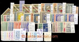 78147 - 1918-92 sestava známek převážně čistých, i lepší po