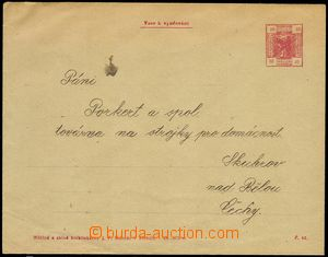 78160 - 1905 AUSTRIA  envelope with imprinted stmp sloužící as sa