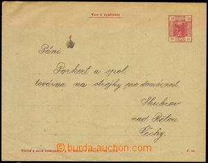 78160 - 1905 RAKOUSKO  obálka s natištěnou známkou sloužící j