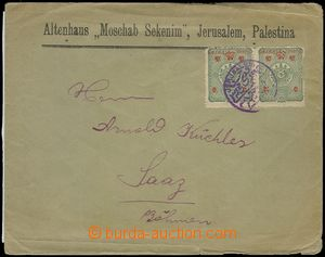 78189 - 1901 letter to Žatec, franked with. overprint  Turkish stam