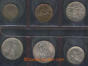 78228 - 1929 VATIKÁN  comp. 6 pcs of coins, 5c, 10c, 20c, 50c, 1L,