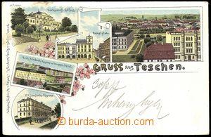 78303 - 1897 ČESKÝ TĚŠÍN / CIESZYN (Teschen) - lithography, bar