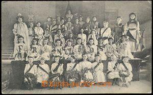 78304 - 1908 ČESKÝ TĚŠÍN / CIESZYN (Teschen) - společné škol
