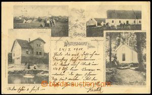 78306 - 1904 VRCHY (Waltersdorf) - 4-view, post off., chapel; long a