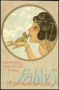 78313 - 1901 KIRCHNER Rafael, Paris, litografie, secesní koláž, d