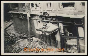 78333 - 1933 BRNO - materiální následky sebevražedného výbuchu