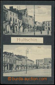 78337 - 1921 HLUČÍN (Hultschin) - 2-views, square; Us, good condit