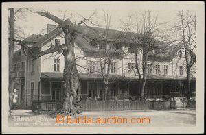 78338 - 1930 HUKVALDY - hotel Mičaník, zahradní restaurace; nepou