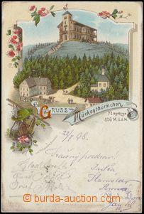 78341 - 1898 KOMÁŘÍ VÍŽKA (Mückenthürmchen) - lithography; lo