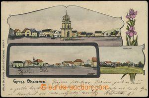 78348 - 1906 OČIHOV (Gross Otschehau) - lithography; Us, postal-age